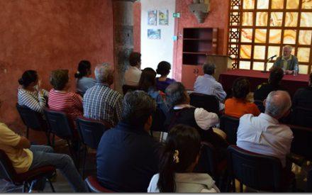 Continúa ciclo de conferencias en la Biblioteca Franciscana UDLAP