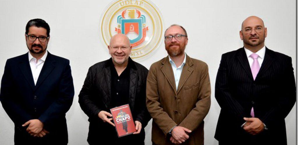 Raymundo Riva Palacio presenta libro en la UDLAP