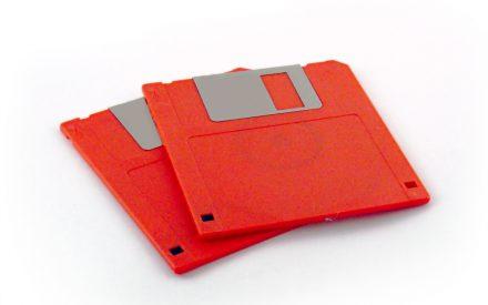 El último disco floppy