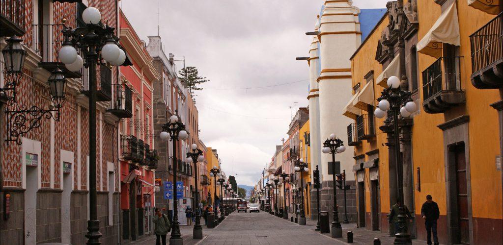 Las calles de Puebla y sus nombres