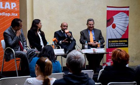 Presenta UDLA Puebla libro El Kaizen-Coaching
