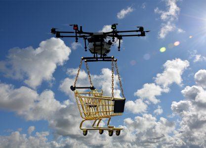 Los retos del uso de drones en las redes logísticas