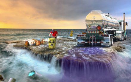 Remediación ambiental de agua residual contaminada por metales pesados