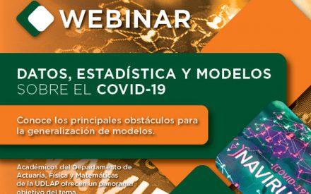Datos, estadística y modelos sobre el COVID-19