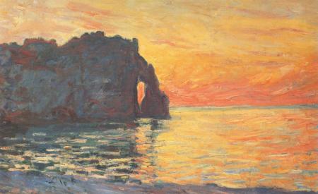 Claude Monet: una mirada a través de la pincelada Impresionista