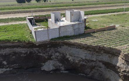 El origen del socavón en Santa María Zacatepec